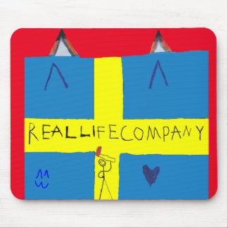 REAL LIFE Company LOGA Musmatta Mouse Pad