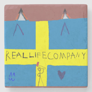 REAL LIFE Company LOGA Stenunderlägg Stone Coaster