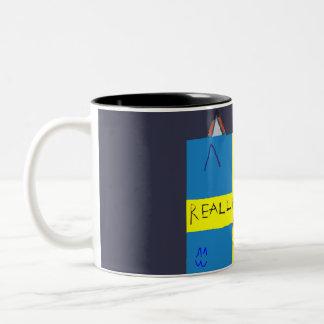 REAL LIFE Company LOGA Tvåfärgsmugg Two-Tone Coffee Mug