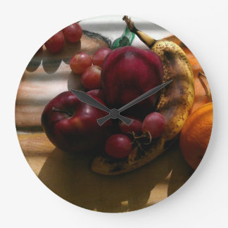 """Real Life Meets Still Life™ "" (Clock) Large Clock"