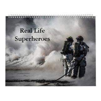 Real Life Superheroes Calandar Calendars