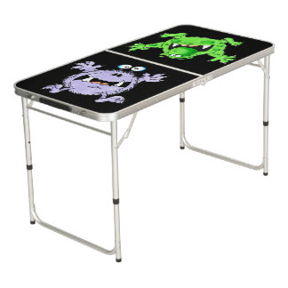 Real 'lil' Monsters pong table