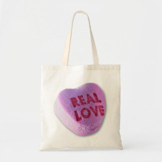 real love budget tote bag