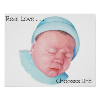 Real Love by Newborn Poster