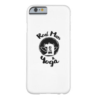 Real Man Do Yoga Lover Funny Gift  For Mens Barely There iPhone 6 Case