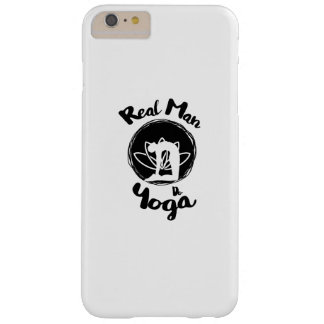 Real Man Do Yoga Lover Funny Gift  For Mens Barely There iPhone 6 Plus Case