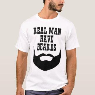 Real Man Have Beards T-Shirt