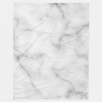 Real Marble Fleece Blanket
