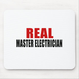 REAL MASTER ELECTRICIAN MOUSE PAD