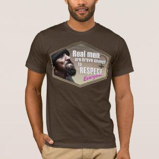 Real Men, Alternative Apparel Crew Neck T-Shirt