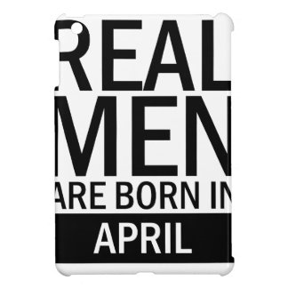 Real Men April Cover For The iPad Mini