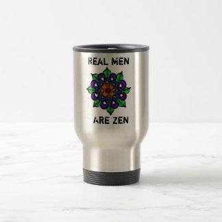 Real Men Are Zen Travel Mug