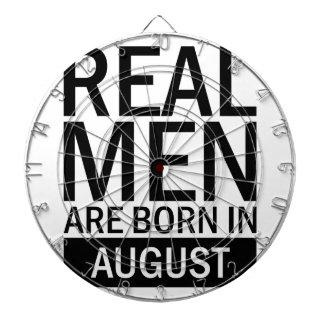 Real Men August Dartboard