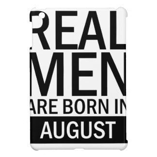Real Men August iPad Mini Covers