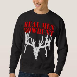 Real Men Bowhunt Sweatshirt
