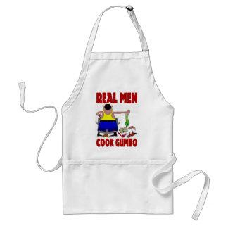 Real Men Cook Gumbo Standard Apron