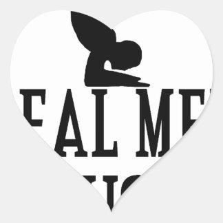 Real Men Do Yoga Heart Sticker