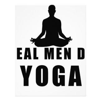 real men do yoga letterhead