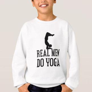 Real Men Do Yoga Sweatshirt