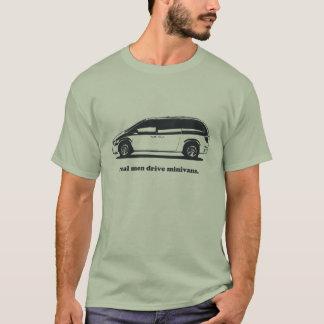 Real Men Drive Minivans T-Shirt