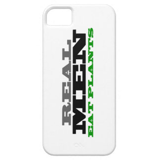 REAL MEN EAT PLANTS iPhone case