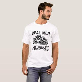 Real Men Funny Tshirt
