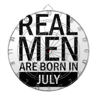 Real Men July Dartboard