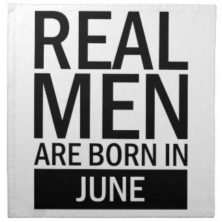 Real Men June Napkin