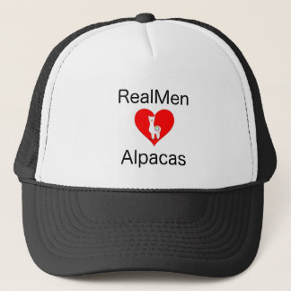 Real men Love Alpacas Trucker Hat