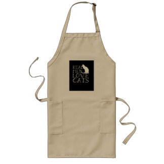 Real Men Love Cats Apron