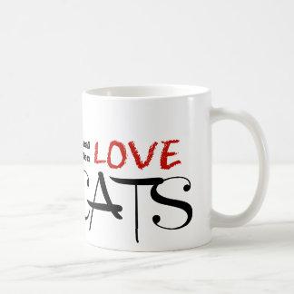 Real Men Love Cats! Coffee Mug