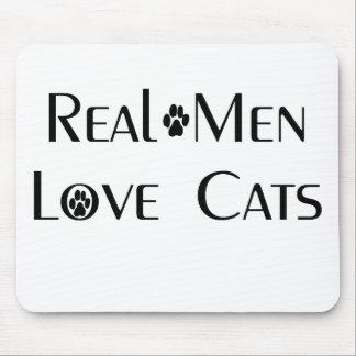 Real Men Love Cats Mousepad