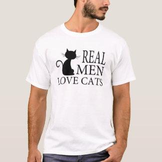 REAL MEN LOVE CATS T-Shirt
