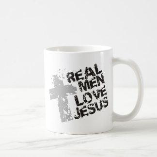 Real Men Love Jesus Coffee Mugs