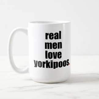 Real Men Love Yorkipoos Mug