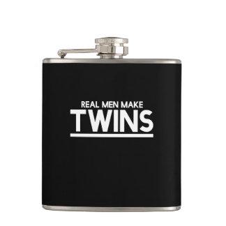 Real Men make twins Flasks