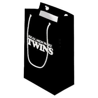 Real men make twins small gift bag