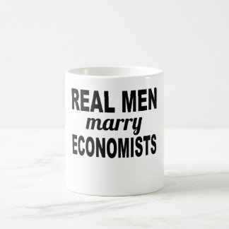 Real Men Marry Economists Coffee Mug