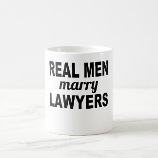 Real Men Marry Lawyers Coffee Mug