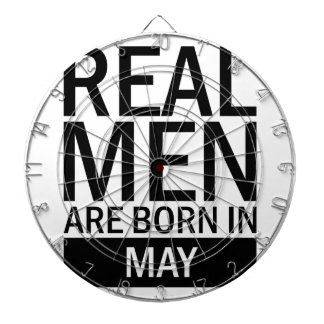 Real Men May Dartboard