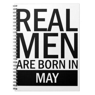Real Men May Notebook
