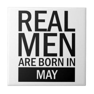 Real Men May Tile