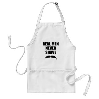 Real Men Never Shave Aprons