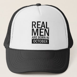 Real Men October Trucker Hat