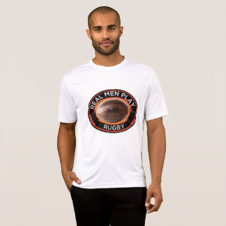 Real Men Play Rugby Competitor T-Shirt
