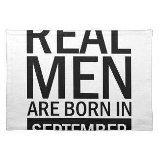 Real Men September Placemat