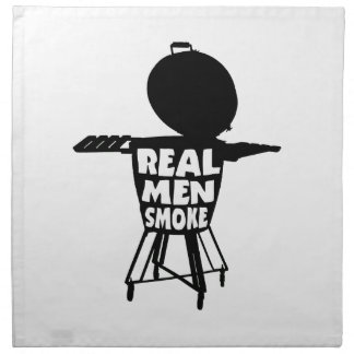 REAL MEN SMOKE NAPKIN