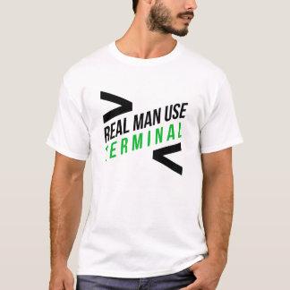 Real Men Use Terminal T-Shirt