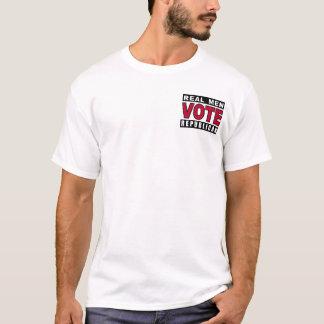 Real Men Vote Republican T-Shirt