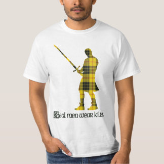 Real Men Wear Kilts MacLeod Scottish Tartan T-Shirt